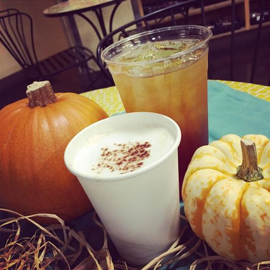organic pumpkin drinks